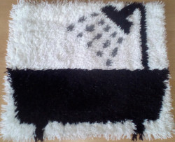 Bathroom Latch Hook Rug